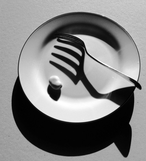 Stanko Abadžic - Fork and Plate (Still Life)
