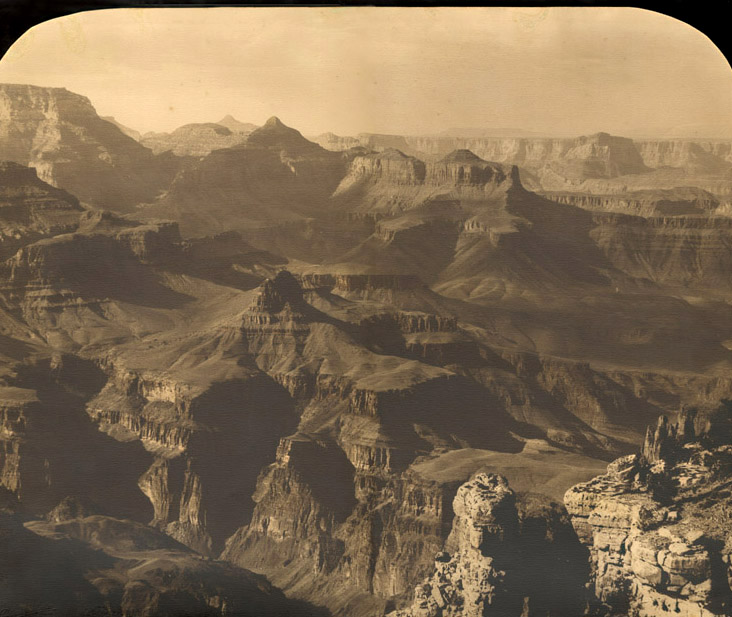 Putnam & Valentine - Large View of the Grand Canyon