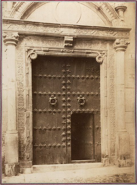 Juan Laurent - Door of the House of the Happy Banker, Toeldo, Spain
