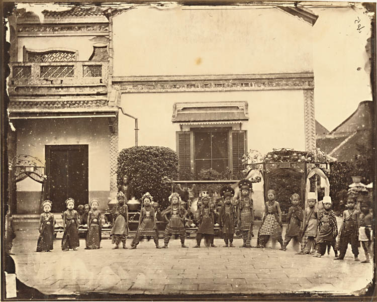 Woodbury and Page - Chinese School of Dance, Semarang