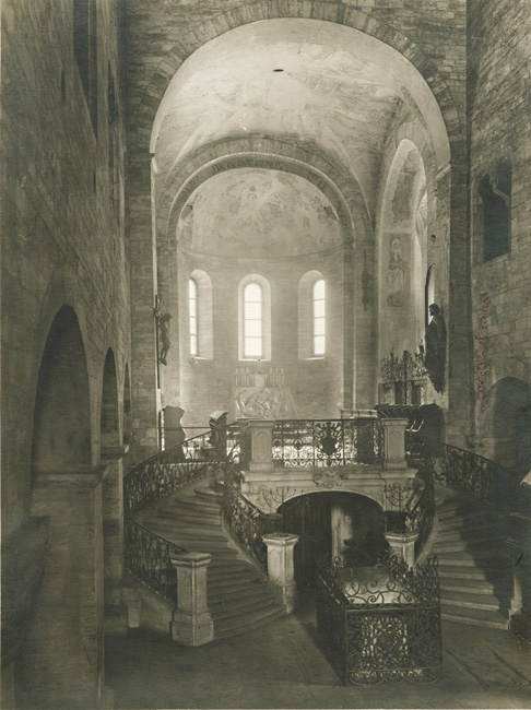 Jaromir Funke - Basilica of Saint George at Prague Castle, Interior