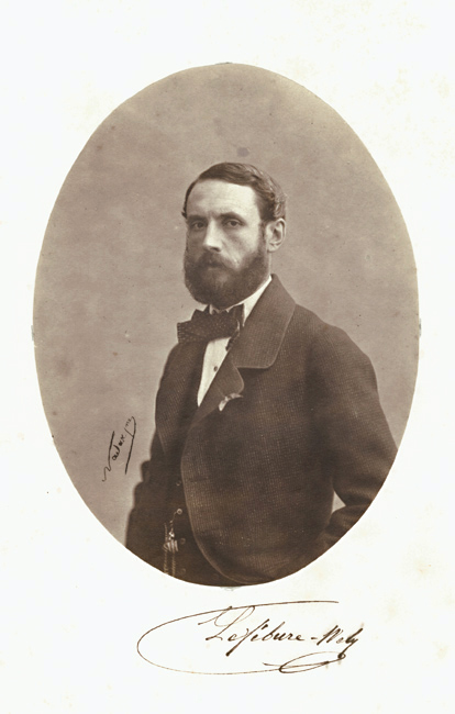 Adrien Tournachon-Nadar - Portrait of Louis James Alfred Lefébure-Wely, Partner to Tournachon
