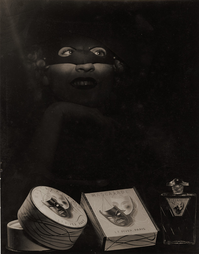 "Laure Albin-Guillot - Advertising Shot for the Perfume ""Masquerade"" by L. T. Piver"