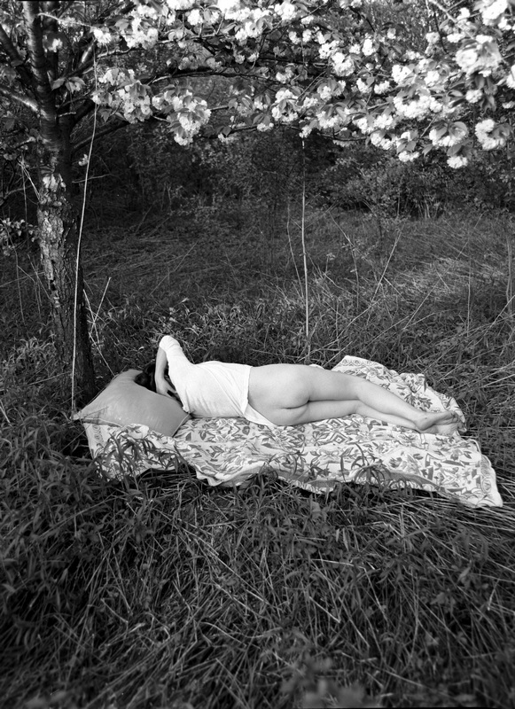 Stanko Abadžic - Female Nude in the Woods