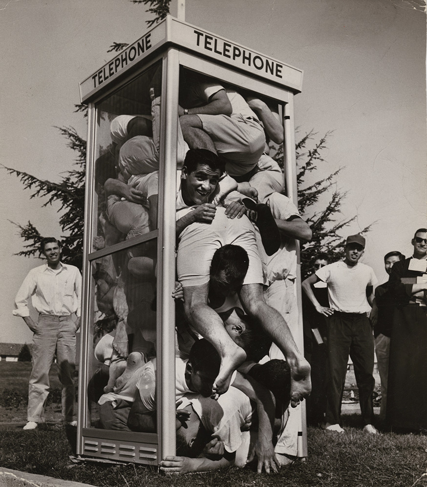 "Joseph J. ""Joe"" Munroe - Telephone Booth Stuffing"