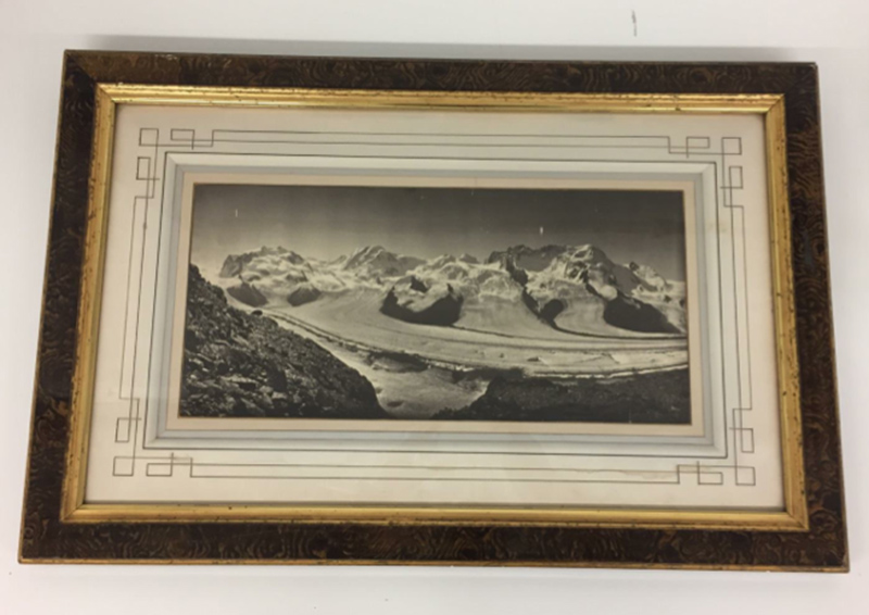 Adolphe Braun - Panorama of Alps Glacier