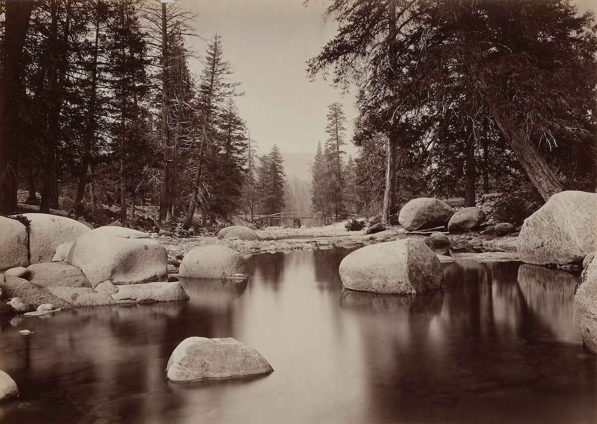 Thomas Houseworth & Co. - Clark & Moore, Merced River