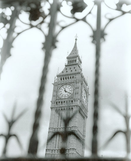 Dave Rudin - The Clock Tower of Parliament, London, 2001