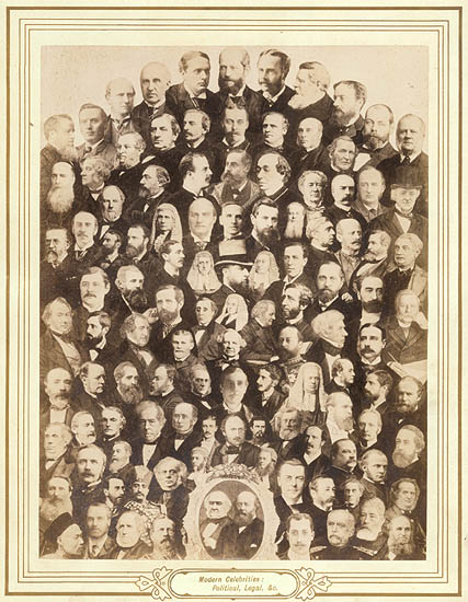 Photo Detail - Anonymous (Various) - Photographic Groups of Eminent Personages