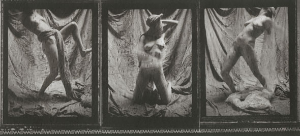 Margaret Cressman - Untitled Triptych (Nude Self Portrait)