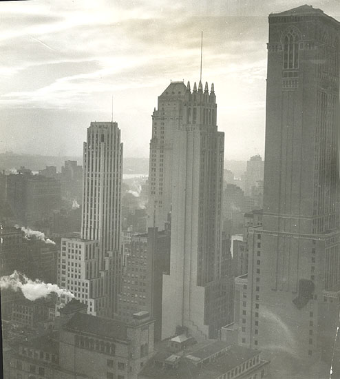 Studio Deutch - View from the Chrysler Building, New York City, NY