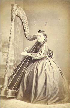 Fisher - Woman with Harp