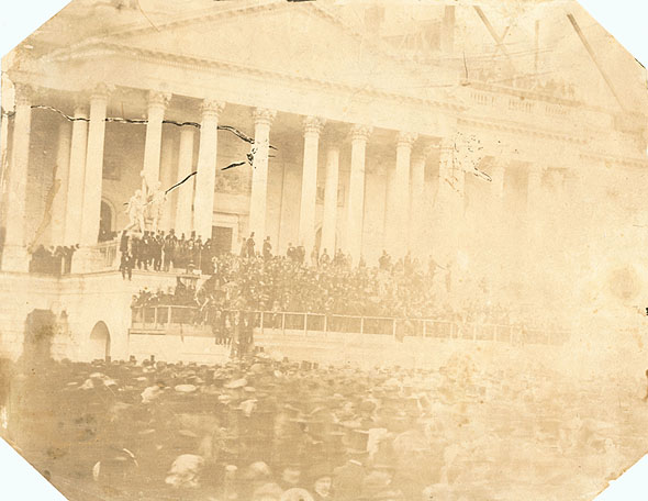 John Wood - Inauguration of President James Buchanan on the Capitol Steps