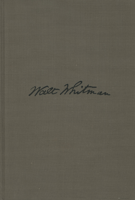 Duane Michals - Salute, Walt Whitman (Signed Edition)