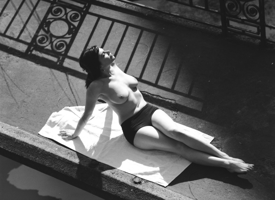 Stanko Abadžic - Female Nude in Sun