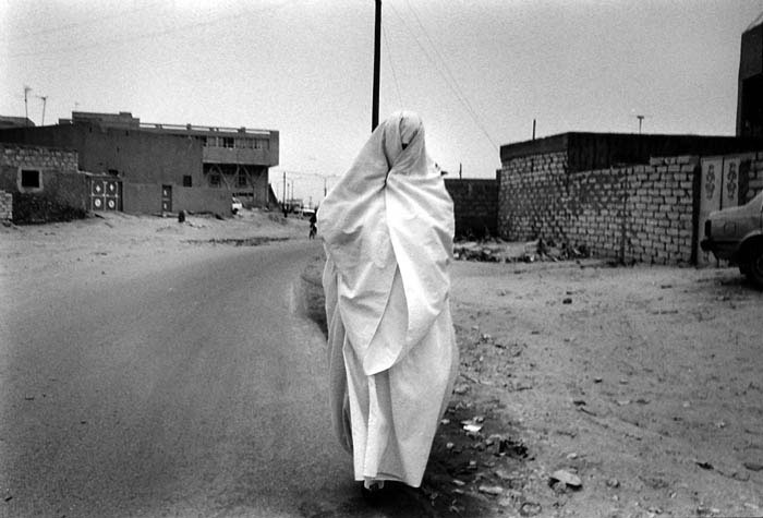 Samer Mohdad - Berber Woman at Nalouth, Libya